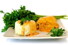 соус риса петрушки паприки цыпленка Стоковая Фотография RF