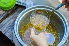Соус традиционных морепродуктов пряный Стоковое Фото