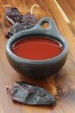 соус chili горячий красный Стоковая Фотография
