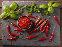 Соус Chili Стоковые Изображения