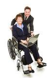 соучастники инвалидности дела Стоковая Фотография RF
