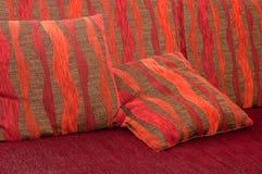 софа подушки валика Стоковые Изображения