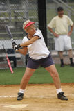 софтбол batter стоковые фото