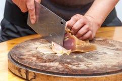Сохраненное мясо отрезает вверх Стоковая Фотография
