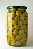 сохраненные оливки Стоковые Изображения RF