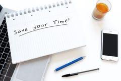 Сохраньте ваше время Стоковые Фотографии RF