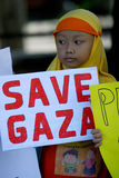 Сохраньте Газа стоковая фотография rf