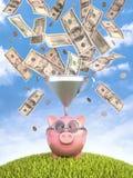 Сохраньте деньги Стоковые Изображения