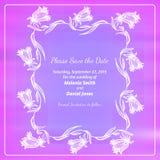 Сохраньте карточку даты Стоковое Фото