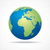 Сохраньте концепцию земли иллюстрация вектора