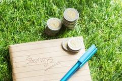 сохранять финансов Стоковые Изображения RF