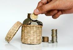 Сохраняющ деньги, сохраньте концепцию сбережений денег Стоковая Фотография RF