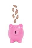 Сохраняя концепция финансов Стоковое Изображение