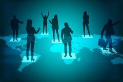 Социальная концепция сети стоковая фотография