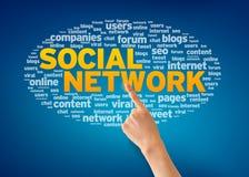 Социальная сеть Стоковые Фотографии RF