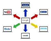 социальная технология Стоковые Изображения