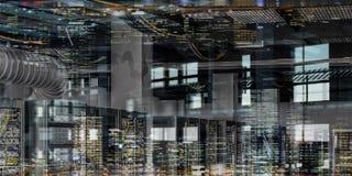 Социальные соединение и сеть Мультимедиа стоковое изображение rf
