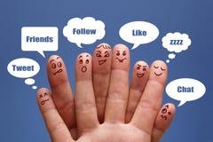 Социальные средства Стоковое Изображение RF
