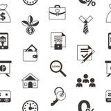 Социальный кредит и кренить значки оплаты иллюстрация вектора