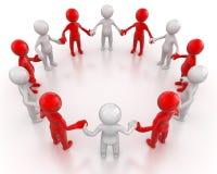 Социальная группа людей сети Стоковые Изображения RF