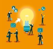 Социальная сеть - иллюстрация Идея и сообщения бесплатная иллюстрация