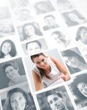 Социальная сеть стоковые фото