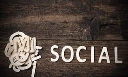 социально стоковое фото