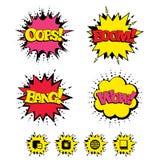 Социальные значки средств массовой информации Пузырь и глобус речи болтовни бесплатная иллюстрация