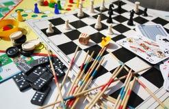 Социальные игры Стоковые Фото