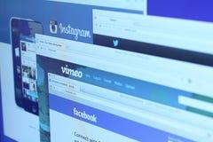 Социальные места сети Стоковые Фотографии RF