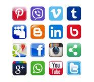 Социальные сети Стоковое фото RF