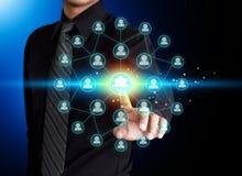 Социальный значок сети Стоковая Фотография RF