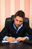 сочинительство бизнесмена Стоковое Изображение RF