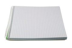 сочинительство изолированное книгой белое Стоковое фото RF