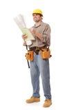 сочинительство работника примечаний тела полное Стоковая Фотография RF