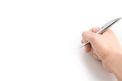 сочинительство руки Стоковое Изображение RF
