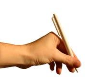 сочинительство руки Стоковые Фотографии RF
