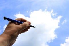 сочинитель неба Стоковая Фотография RF