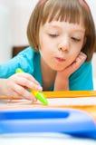Сочинительство ребенка Стоковое Изображение RF
