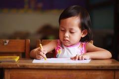 Сочинительство ребенка Стоковое Изображение