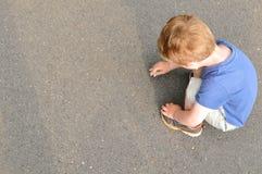 Сочинительство ребенка Стоковые Изображения