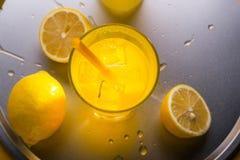 Сочная подготовка лимонада Стоковое Фото