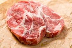 сочное мясо сырцовое стоковое изображение