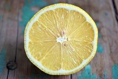 Сочные половины лимона Стоковое Изображение