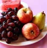 Сочные свежие фрукты Стоковые Изображения RF