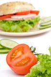 сочный зрелый томат Стоковое Изображение RF