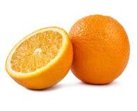 Сочный оранжевый плодоовощ с куском Стоковое Изображение RF