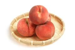 сочный персик Стоковое Фото