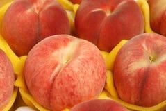 сочный персик Стоковые Изображения