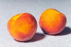 сочный персик 2 Стоковое Фото